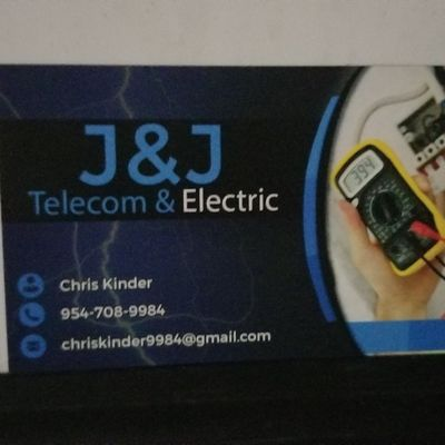Avatar for J&J Telecom and electric/liscence#EC13006062