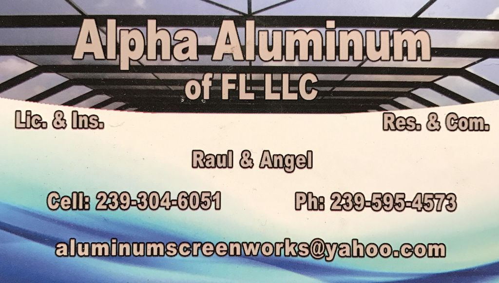 Alpha Aluminum of Florida LLC