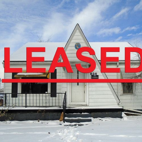 We lease houses fast