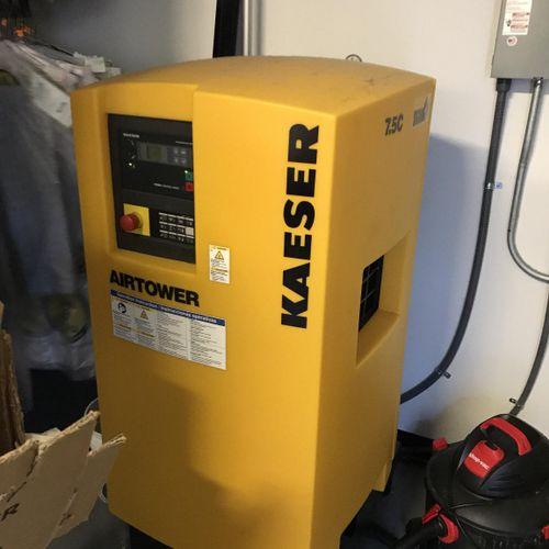 Industrial compressor service