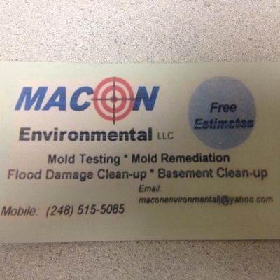 Avatar for Maconenvironmental Clawson, MI Thumbtack