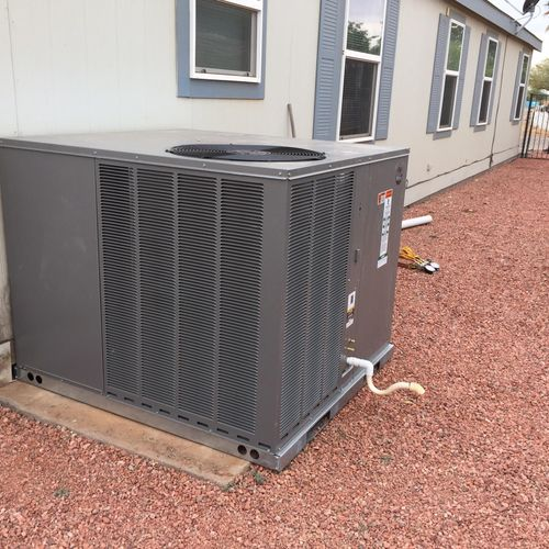 New Central Air Install