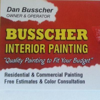 Avatar for Busscher Interior Painting Hudson, MI Thumbtack
