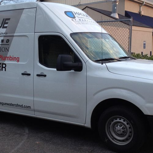 New full size work vans to provide a wider range of services.