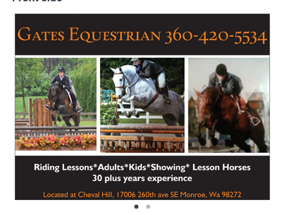 Avatar for Gates Equestrian Monroe, WA Thumbtack