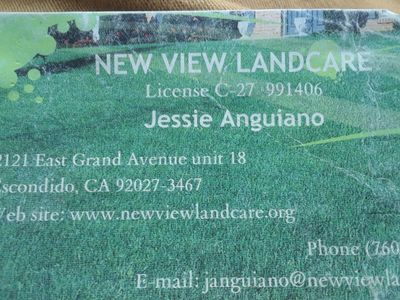 Avatar for New view landcare Escondido, CA Thumbtack