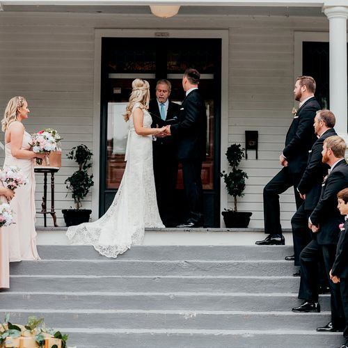 Chelsea and Micheal get married at Mason Street Manor
