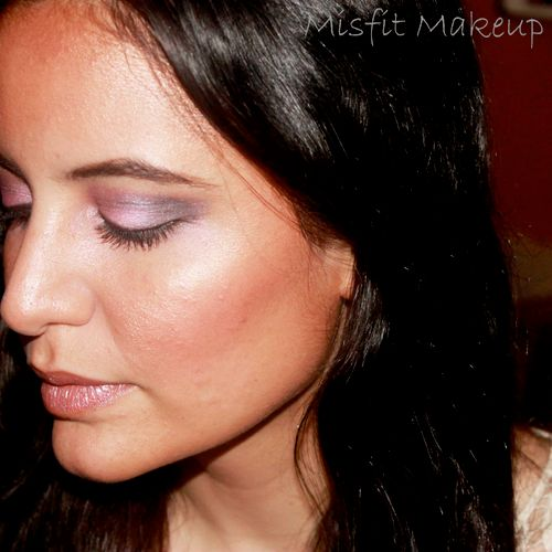 Beachy Peachy, Bronzed Beauty - I love this look I cannot wait to work with her again.