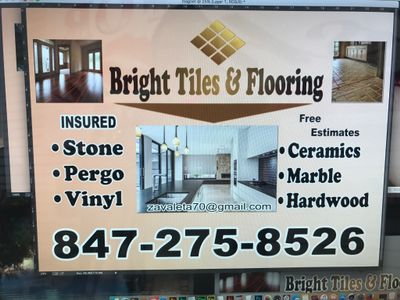 Avatar for Bright Tiles and Flooring Vernon Hills, IL Thumbtack
