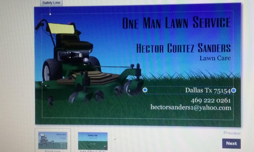 One Man Lawn Service and one Man Junk Removal