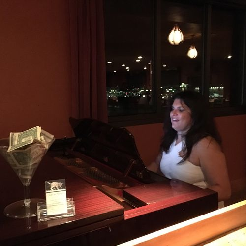 Performing at Trapper's Chop House in Parker