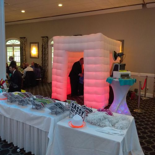 Great Inflatable Photo Booth Option