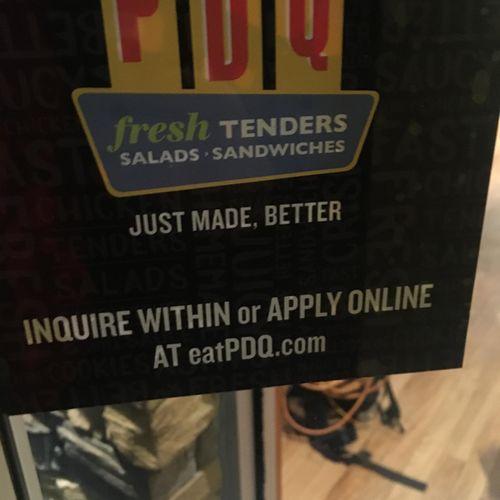 PDQ restaurant