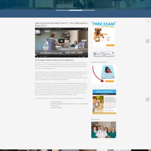 Animal Healthcare PC, a veterinary hospital in Naperville, IL.