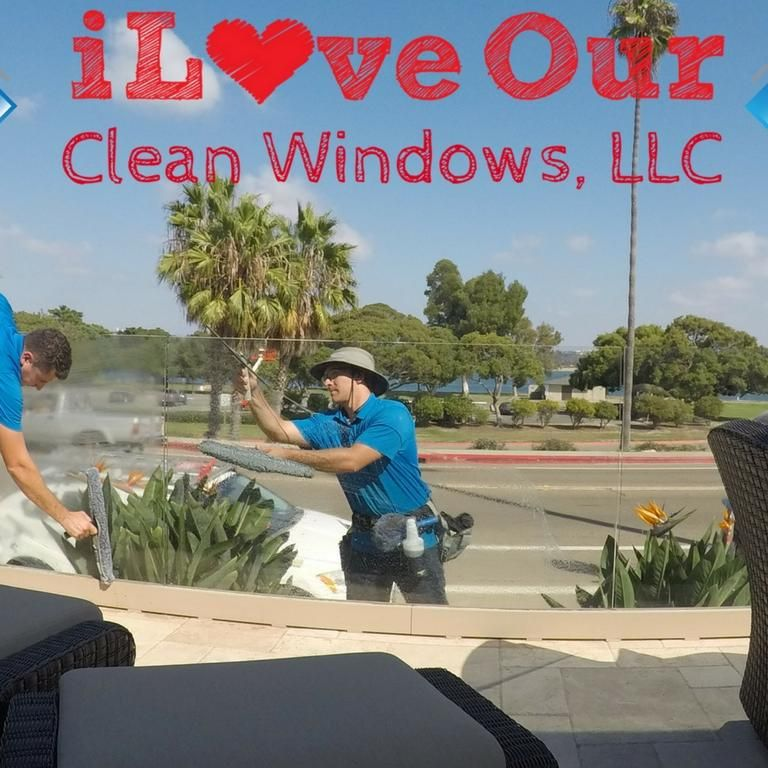 I Love Our Clean Windows