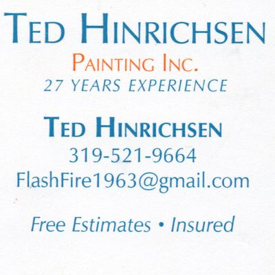 Avatar for Ted Hinrichsen Painting