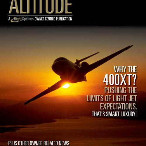 Private jet owner annual magazine.