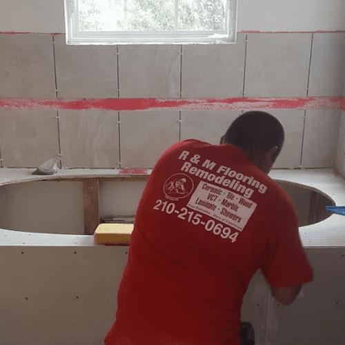 Bathroom Remodel - Tile and Flooring