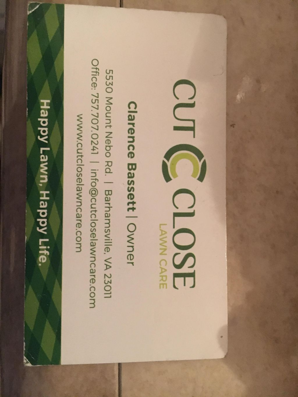 Cut Close Lawn Care LLC