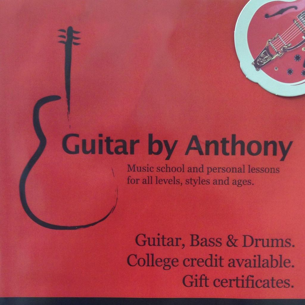 Guitar by Anthony Music School