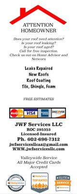 Avatar for JWF Services LLC Scottsdale, AZ Thumbtack