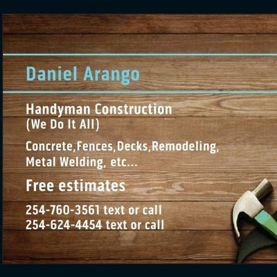Avatar for Daniel Arango Temple, TX Thumbtack