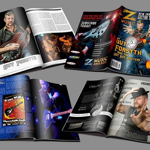 Magazine Design and Photography