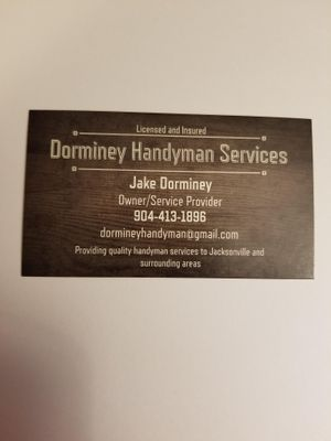 Avatar for Dorminey Handyman Services Jacksonville, FL Thumbtack