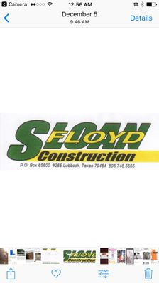 Avatar for SLOAN CONSTRUCTION Lubbock, TX Thumbtack