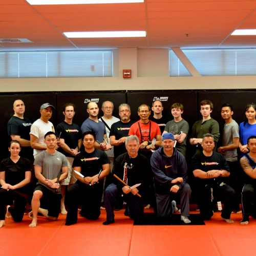 Group photo from Master Frank Rillamas seminar held on March 11, 2017
