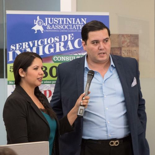 Diego Rodriguez answers immigration questions on the news.