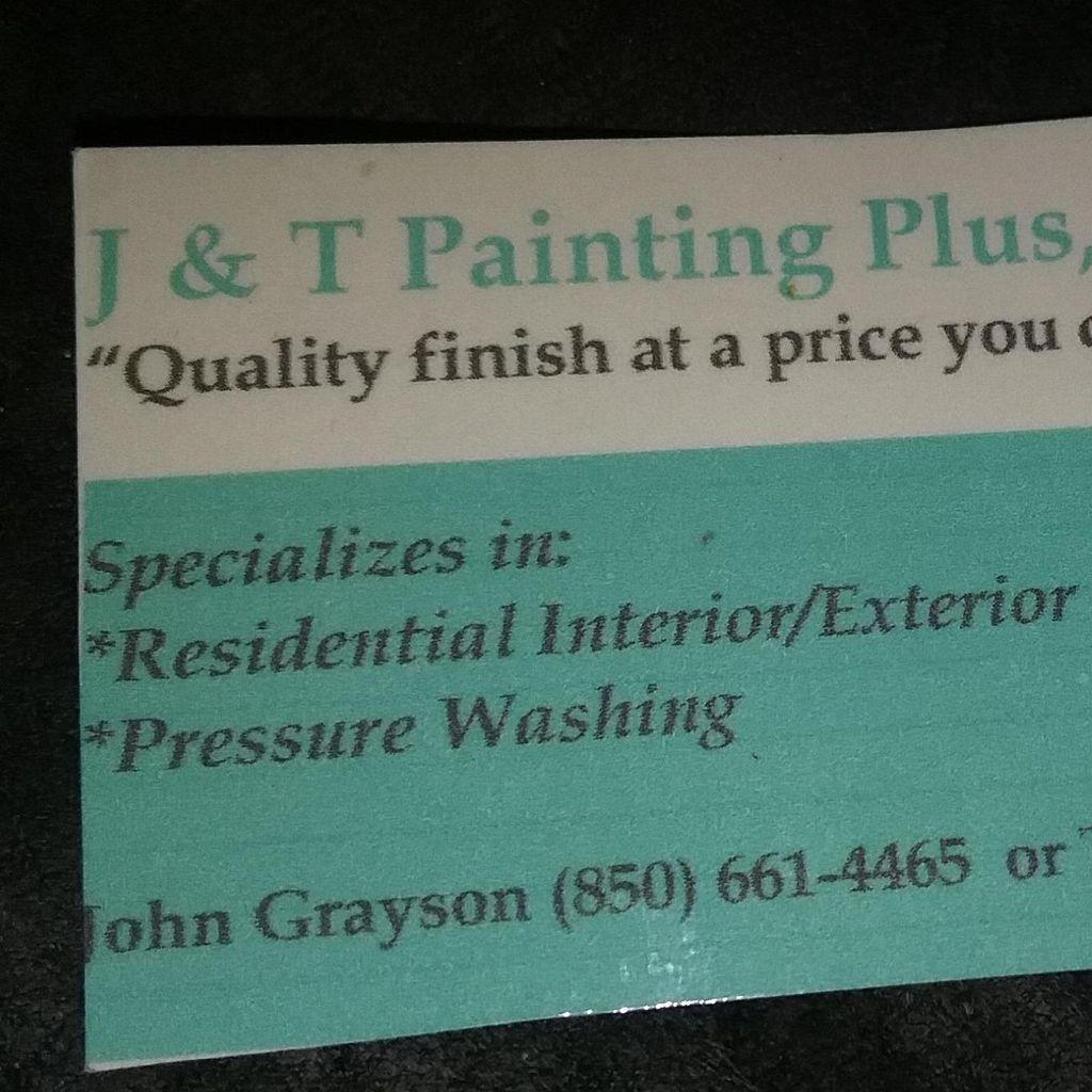 J & T Painting Plus L.L.C.