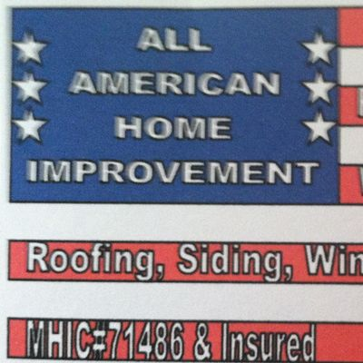 Avatar for All American home improvement, inc. Gambrills, MD Thumbtack