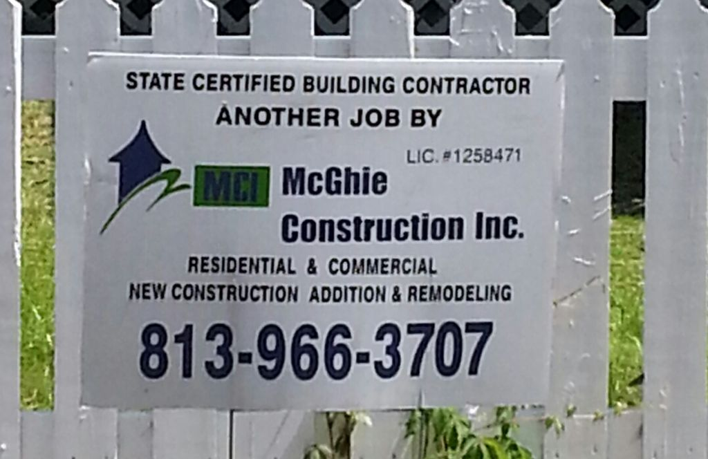 McGhie Construction Inc.
