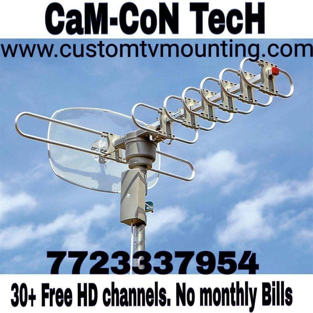CamCon Tech Tv Mounting Service