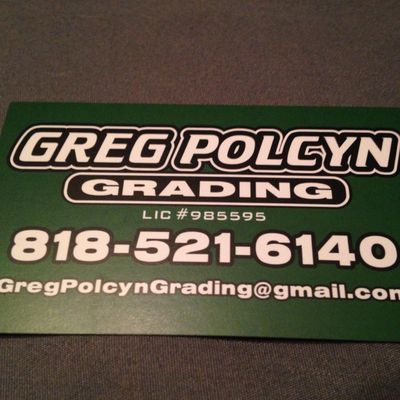 Avatar for Greg Polcyn Grading Simi Valley, CA Thumbtack