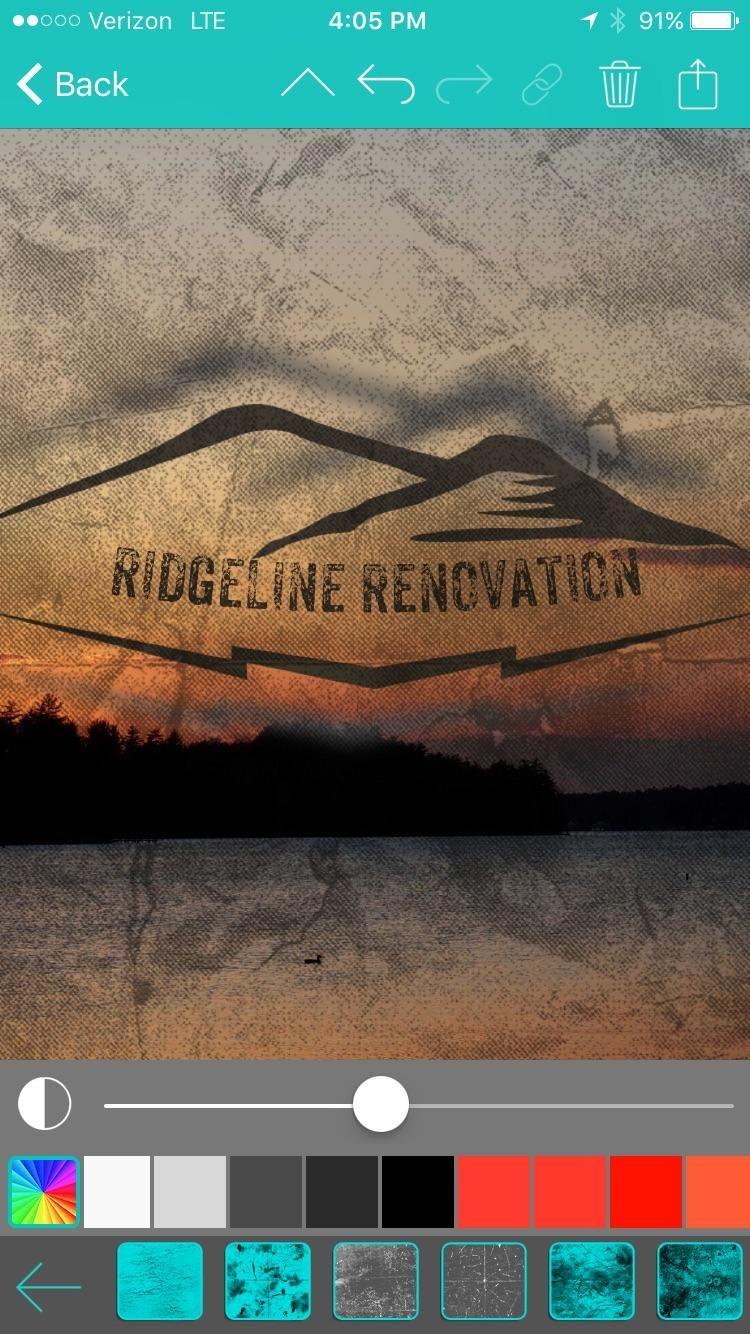 Ridgeline Renovation