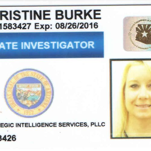 I've been licensed as a Private Investigator here in Arizona since 2008. Prior to that, I was a police officer and worked many cases as an Officer, Major Case Detective and Sergeant. I believe in Ethical investigations and getting the job done right the first time!