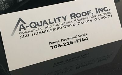 Avatar for A- Quality Roof Dalton, GA Thumbtack