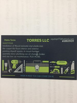 Avatar for TORRES LLC Minneapolis, MN Thumbtack