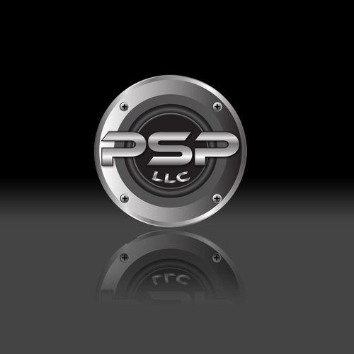 Desktop with logo
