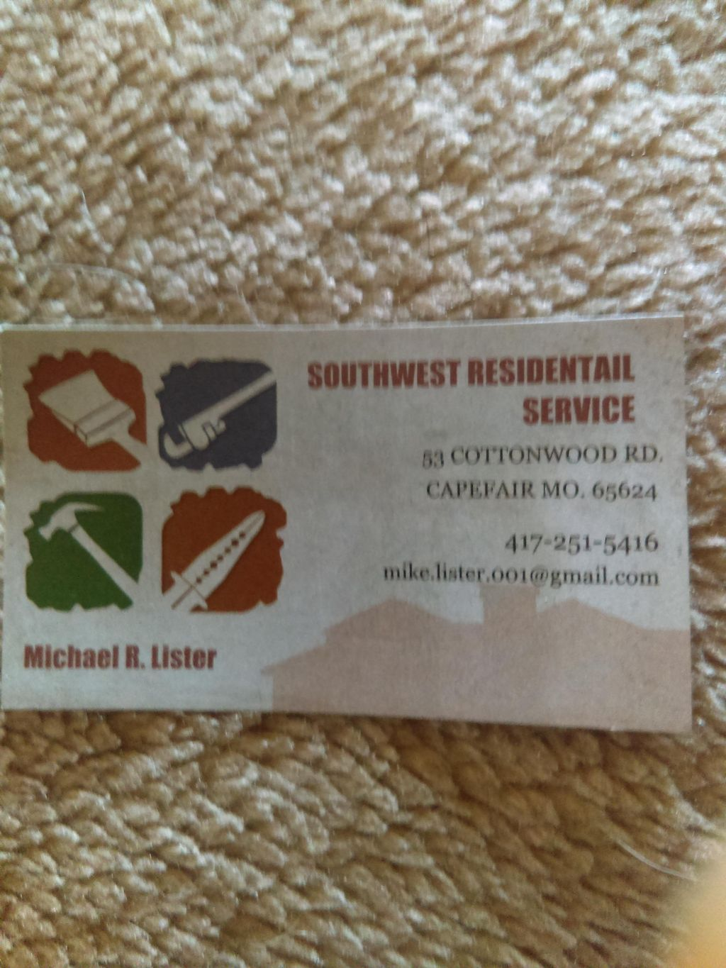 Southwest Residential Service