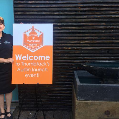 Chef Karen Featured at Thumbtack Austin