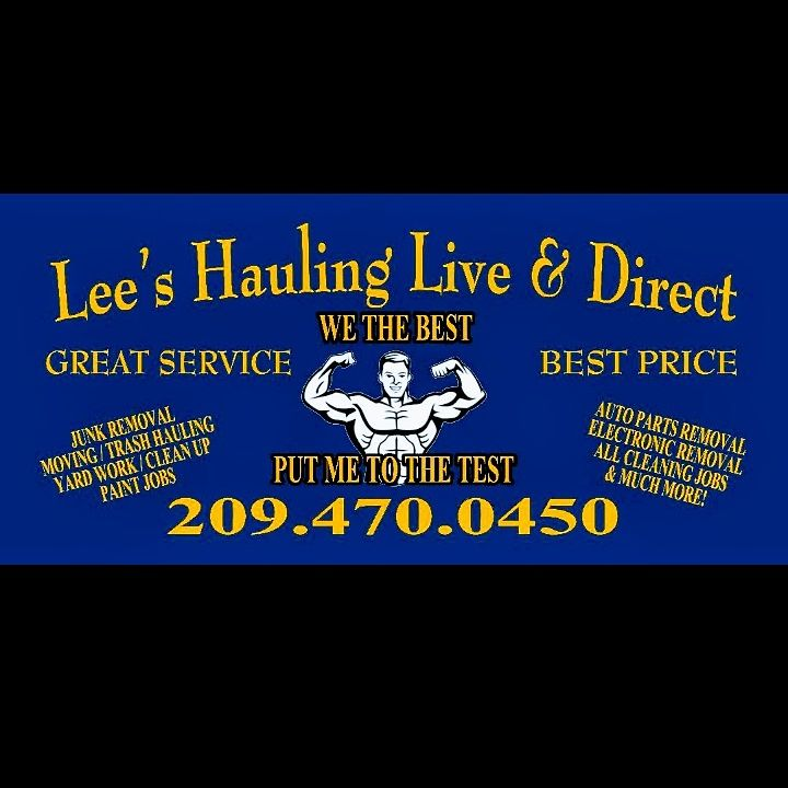 Lees Hauling live and direct we the best!