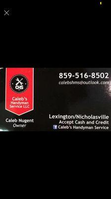 Avatar for Caleb's Handyman Service Nicholasville, KY Thumbtack