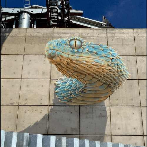 Quetzalcoatl, completed 2016 Mexico City