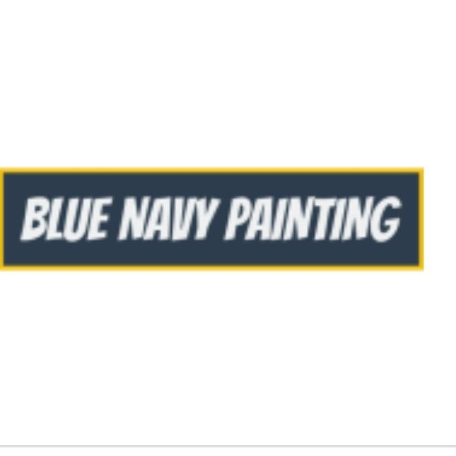 BLUE NAVY PAINTING