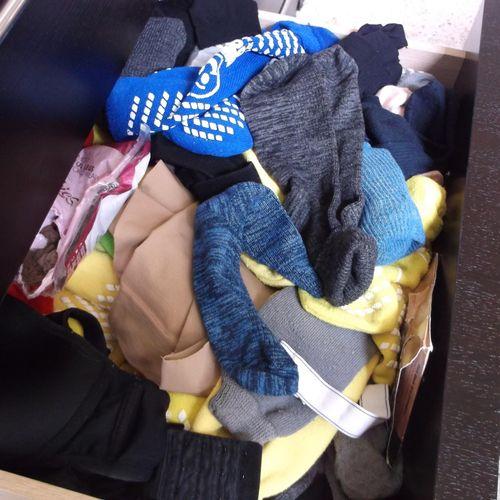 Sock drawer before organzing