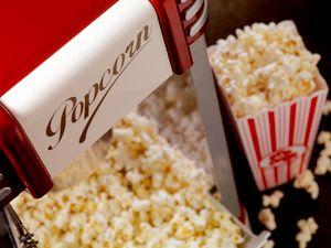 Popcorn Machine with Moonbounce Rental $55