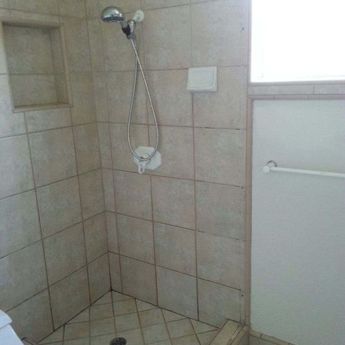 Shower, Before